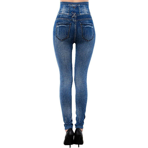 hot-selling official latest design low price sale New Mix Women's Denim Printed Jeggings Leggings NWT